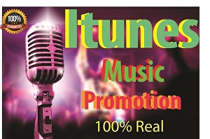I will do organic apple music promotion for your iTunes