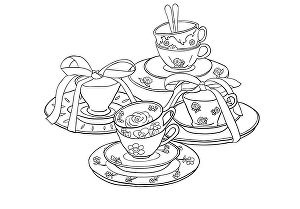 I will do a detail line drawing or line art of your product