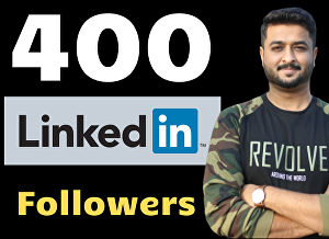I will give you 400 LinkedIn Followers to kickstart your LinkedIn Profile - US