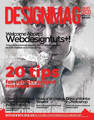 I will create an outstanding cover magazine design