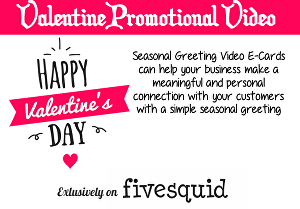 I will create this promotional valentines day video