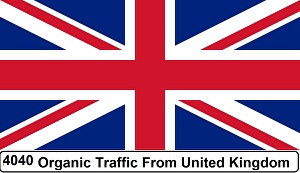 I will Provide more than 4040 Real Organic  UK Traffic