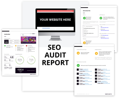 make a SEO audit report for your business and website