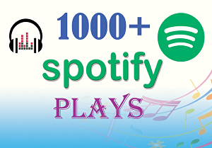 I will do best organic Spotify music promotion
