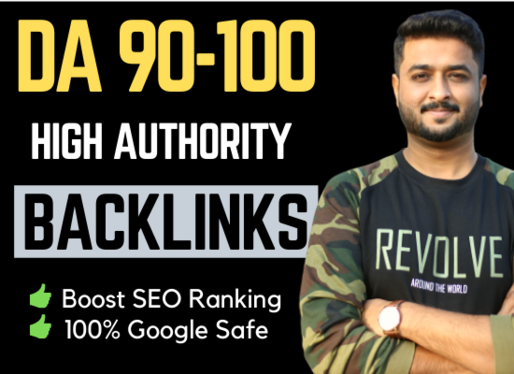 do website SEO with high quality and authority backlinks for google ranking