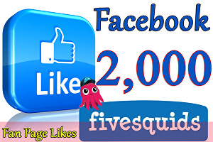 I will Give You 2,000 Facebook Likes