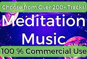 I will Provide 10 Meditation Track of 60 Minutes for commercial use