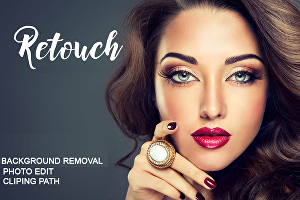 I will do background removal and retouch 20 easy photos