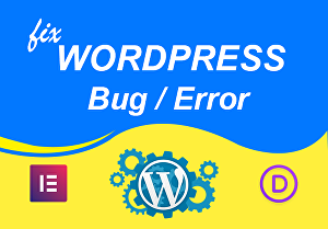I will fix all wordpress website issue and design your website by Elementor Pro