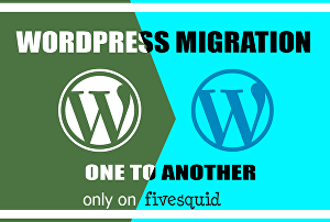 I will move wordpress website to another