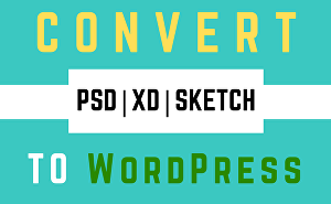 I will covert psd to WordPress with elementor pro