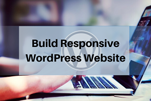 I will build a responsive WordPress website and blog