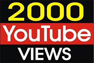 I will Boost Your Youtube Video with 2,000 Views Or 500 Likes