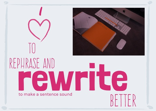 manually rewrite and improve your article