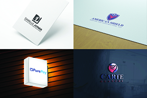 I will design 2 minimalist logo design in 24 hours