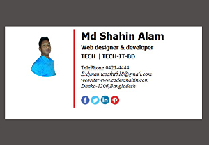 I will design email signature and code clickable html email signature
