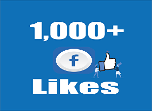 I will Add 1,000+ Real Facebook Likes