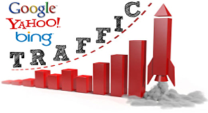 I will send real organic web traffic