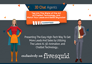 I will create a fully interactive chat agent on your website to increase your leads and sales