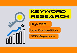 I will do SEO Keyword Research with full report