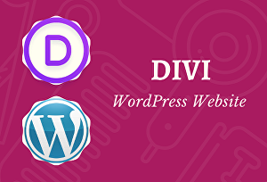I will build a responsive wordpress website by divi theme and divi builder