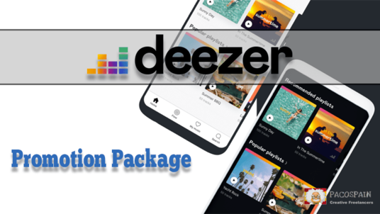 do a Deezer Promotion Package
