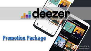 I will do a Deezer Promotion Package