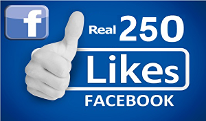 I will add 250 Facebook Fan Page/Photo post likes