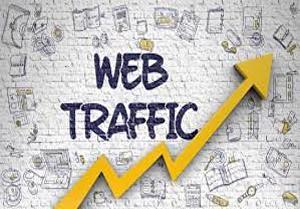 I will send 2500  Website traffic visitors from UK Or USA