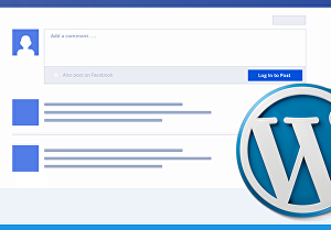 I will add Facebook Comment system in WordPress to engage more audience