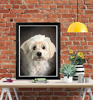 I will draw realistic portrait of your pet in high resolution ready for print