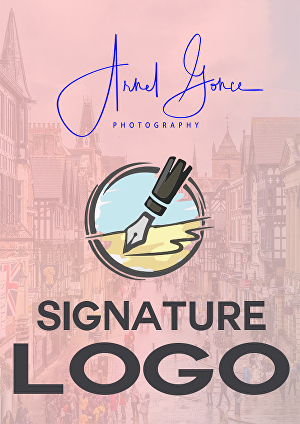I will design a Signature logo