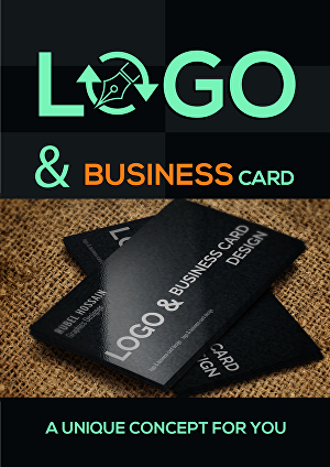 I will Logo design with business card design