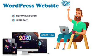 I will create an awesome and professional WordPress website design
