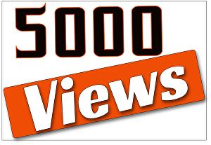 I will Give You   5,000+ UK YouTube views