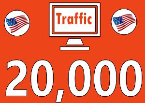 I will Drive 20,000 Search Engine USA Visitors with Proofs