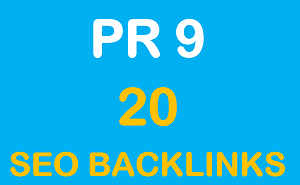 I will do 20 Pr9 - 80+ DA High Quality SEO Domain Authority