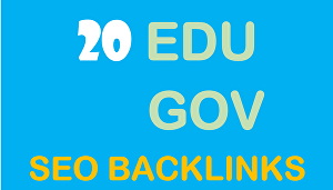 I will Create 20+ EDU GOV Safe SEO Backlinks Authority Site