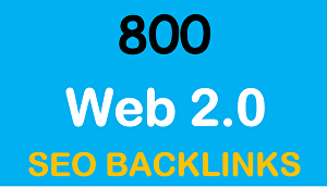 I will Do 800 Web 2.0 profiles Backlinks