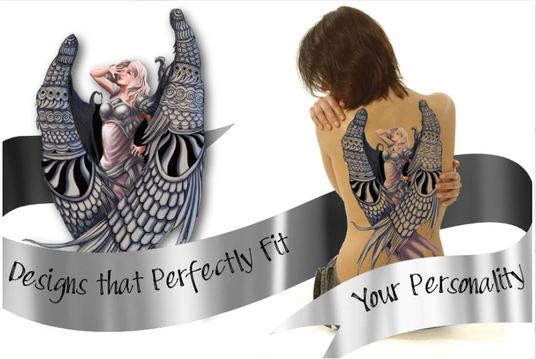 create authentic and detailed tattoo design