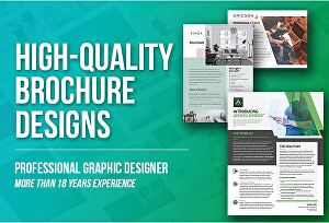 I will design a professional brochure