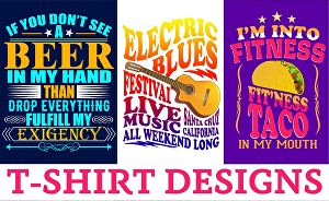 I will design eye catching typography t shirt