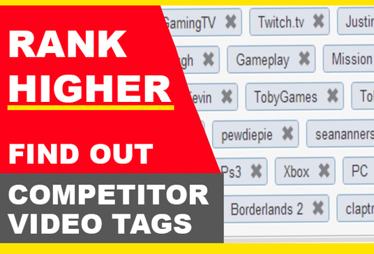 list youtube keywords your competitors use on their videos
