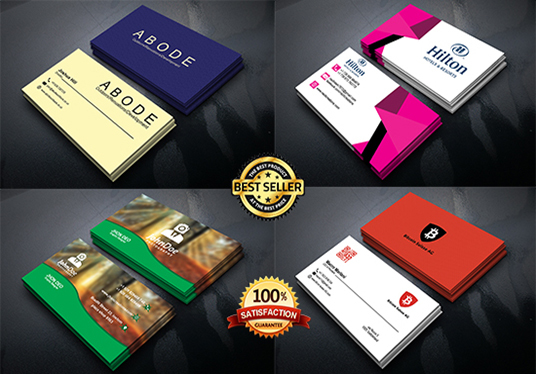do professional and luxury business card design
