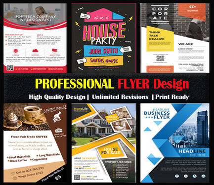 design flyer or poster for your business