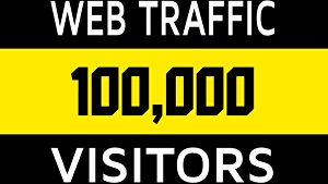 I will give you 100000 visitors from social network