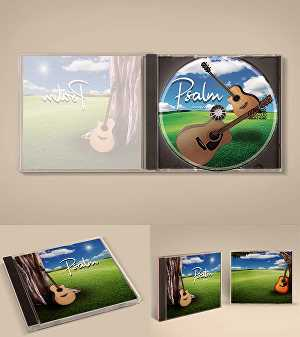 I will design your FRONT cd cover within 24 hours + Source file