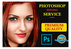 I will  do Photoshop editing  service in 24 hours