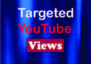 I will Provide 1000+ Targeted YouTube Video Views