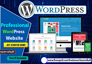I will create any WordPress website or blog page